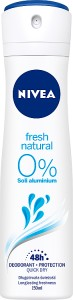 DEZODORANT NIVEA 150ML FRESH WOMAN SPRAY