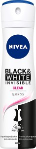 DEZODORANT NIVEA 150ML INVISIBLE CLEAR S