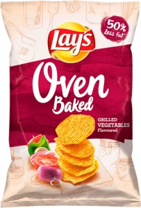 CHIPSY LAYS 125G OVEN BAKED GRILLED VEGETABLES