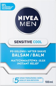 BALSAM PO GOL NIVEA 100ML SENSITIVE COOL