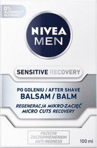 BALSAM PO GOL NIVEA 100ML SENSITIVE RECOVERY